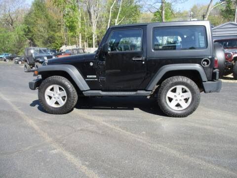 2014 Jeep Wrangler for sale at Route 4 Motors INC in Epsom NH