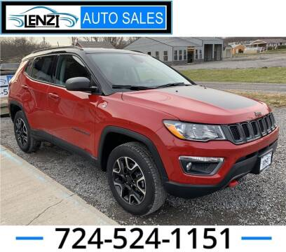 2020 Jeep Compass for sale at LENZI AUTO SALES in Sarver PA