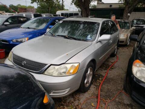 2001 Toyota Avalon for sale at C.J. AUTO SALES llc. in San Antonio TX