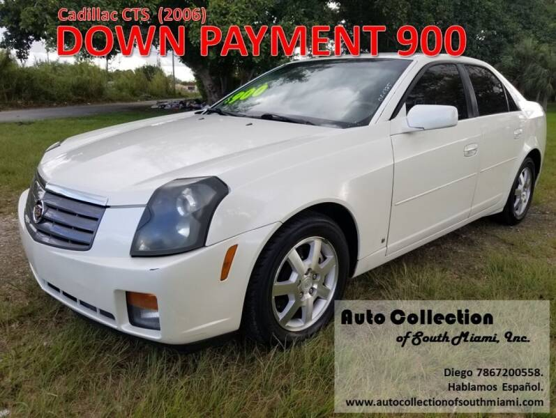 2006 Cadillac CTS for sale at AUTO COLLECTION OF SOUTH MIAMI in Miami FL