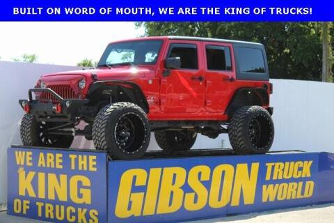 2018 Jeep Wrangler JK Unlimited for sale at Gibson Truck World in Sanford FL