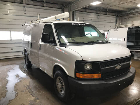 2015 Chevrolet Express Cargo for sale at CARGO VAN GO.COM in Shakopee MN