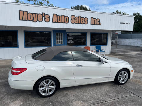 2011 Mercedes-Benz E-Class for sale at Moye's Auto Sales Inc. in Leesburg FL