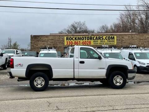 2003 Chevrolet Silverado 2500HD for sale at ROCK MOTORCARS LLC in Boston Heights OH