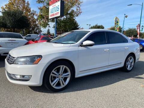 2012 Volkswagen Passat for sale at MISSION AUTOS in Hayward CA