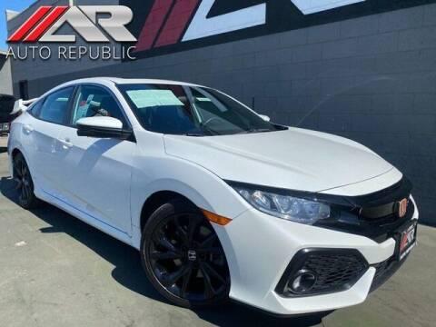 2018 Honda Civic for sale at Auto Republic Fullerton in Fullerton CA