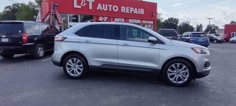 2019 Ford Edge for sale at L&T Auto Sales in Three Rivers MI