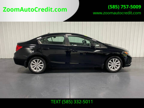 2012 Honda Civic for sale at ZoomAutoCredit.com in Elba NY