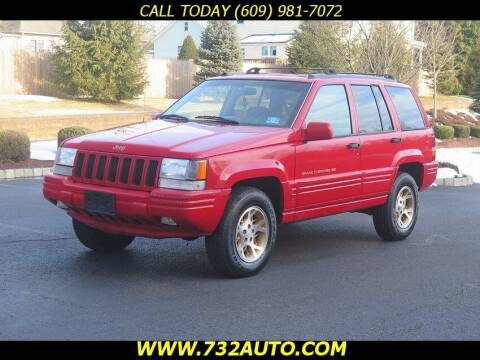 1996 Jeep Grand Cherokee for sale at Absolute Auto Solutions in Hamilton NJ