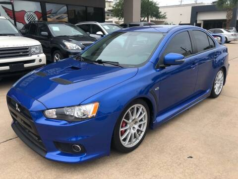 2015 Mitsubishi Lancer Evolution for sale at Car Ex Auto Sales in Houston TX