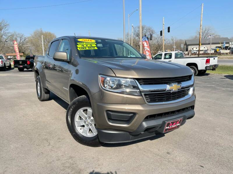 2016 Chevrolet Colorado for sale at A & S Auto and Truck Sales in Platte City MO