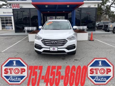 2018 Hyundai Santa Fe Sport for sale at 1 Stop Auto in Norfolk VA