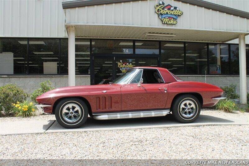 1965 Chevrolet Corvette for sale at Corvette Mike New England in Carver MA