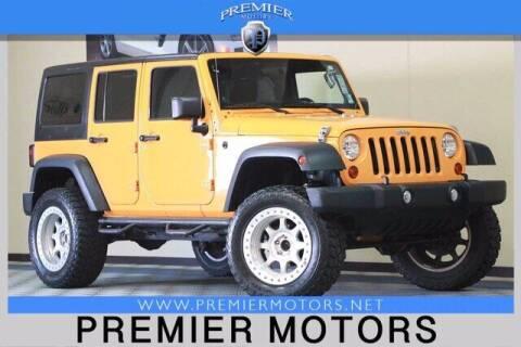 2012 Jeep Wrangler Unlimited for sale at Premier Motors in Hayward CA
