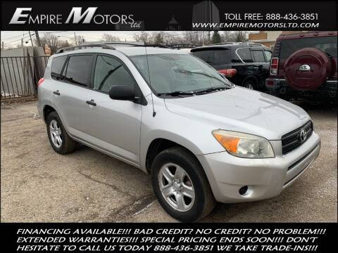 2008 Toyota RAV4 for sale at Empire Motors LTD in Cleveland OH