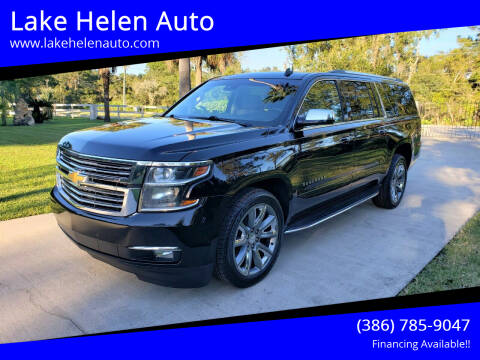 2015 Chevrolet Suburban for sale at Lake Helen Auto in Lake Helen FL