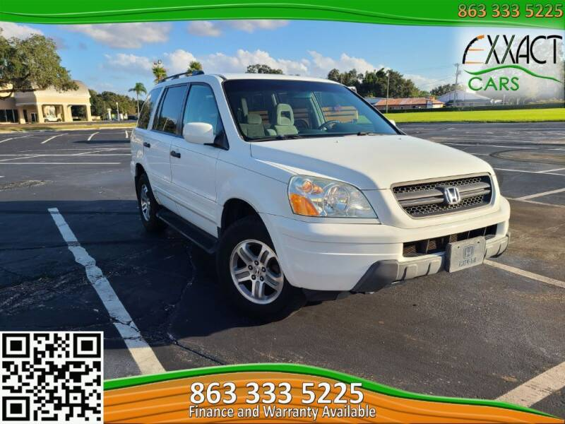 2004 Honda Pilot for sale at Exxact Cars in Lakeland FL