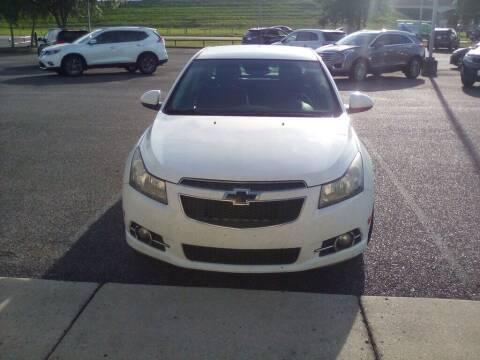 2013 Chevrolet Cruze for sale at JOE BULLARD USED CARS in Mobile AL