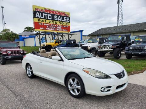 2007 Toyota Camry Solara for sale at Mox Motors in Port Charlotte FL
