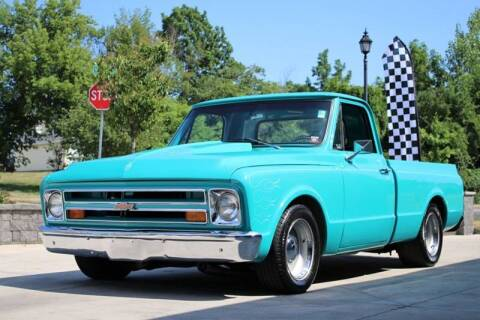 1967 Chevrolet C/K 10 Series for sale at Great Lakes Classic Cars & Detail Shop in Hilton NY