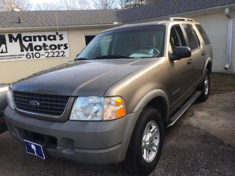 2002 Ford Explorer for sale at Mama's Motors in Greer SC