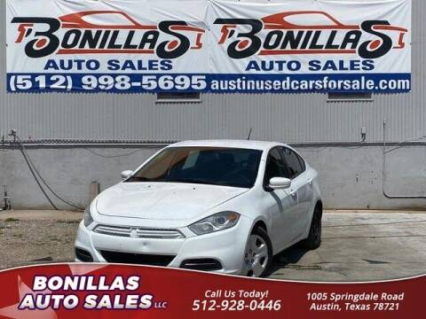 2015 Dodge Dart for sale at Bonillas Auto Sales in Austin TX