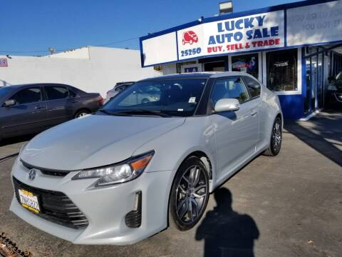 2016 Scion tC for sale at Lucky Auto Sale in Hayward CA