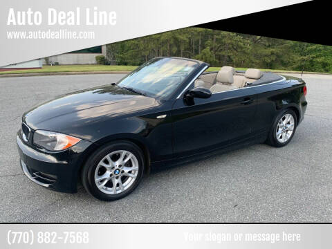 2008 BMW 1 Series for sale at Auto Deal Line in Alpharetta GA
