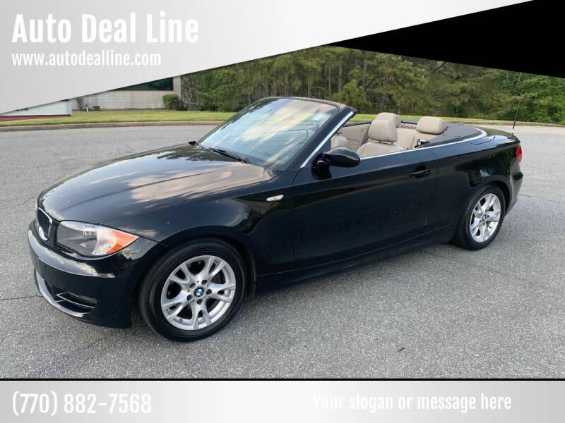 2008 BMW 1 Series for sale at Auto Deal Line in Alpharetta GA