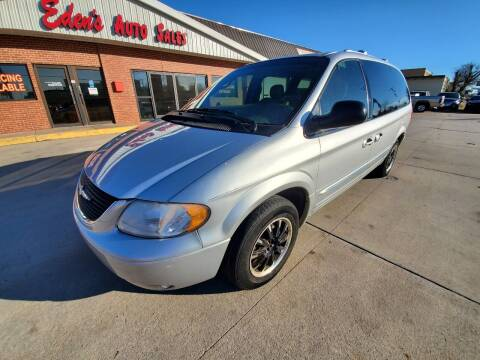 2003 Chrysler Town and Country for sale at Eden's Auto Sales in Valley Center KS