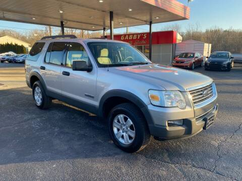 2006 Ford Explorer for sale at GABBY'S AUTO SALES in Valparaiso IN