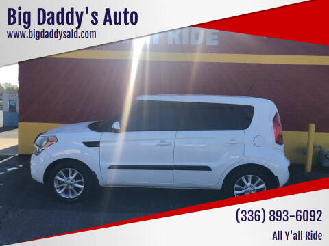 2012 Kia Soul for sale at Big Daddy's Auto in Winston-Salem NC