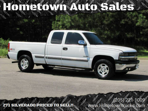 2002 Chevrolet Silverado 1500 for sale at Hometown Auto Sales - Trucks in Jasper AL
