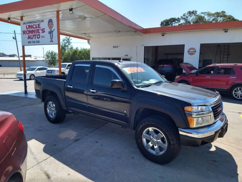 2009 GMC Canyon for sale at Uncle Ronnie's Auto LLC in Houma LA