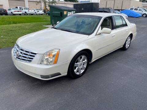 2008 Cadillac DTS for sale at Ultimate Autos of Tampa Bay LLC in Largo FL