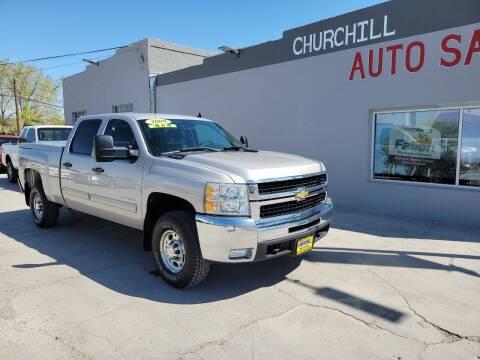 2009 Chevrolet Silverado 2500HD for sale at CHURCHILL AUTO SALES in Fallon NV