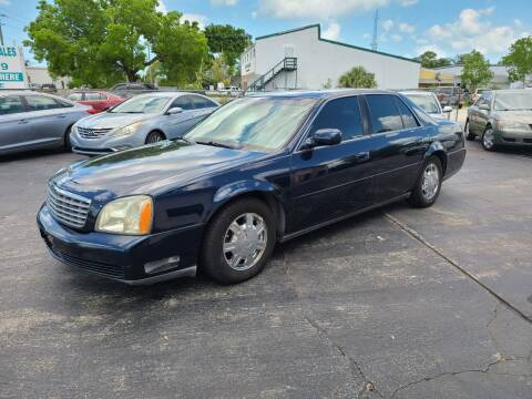 2003 Cadillac DeVille for sale at CAR-RIGHT AUTO SALES INC in Naples FL