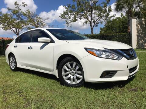 2017 Nissan Altima for sale at Kaler Auto Sales in Wilton Manors FL
