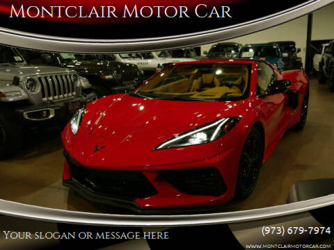 2020 Chevrolet Corvette for sale at Montclair Motor Car in Montclair NJ