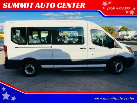 2018 Ford Transit Passenger for sale at SUMMIT AUTO CENTER in Summit IL