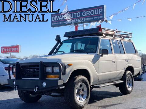 1991 Toyota Land Cruiser for sale at Divan Auto Group in Feasterville PA