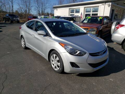2013 Hyundai Elantra for sale at Highlands Auto Gallery in Braintree MA