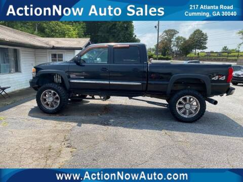 2006 GMC Sierra 2500HD for sale at ACTION NOW AUTO SALES in Cumming GA