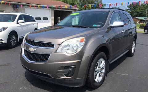 2010 Chevrolet Equinox for sale at Baker Auto Sales in Northumberland PA