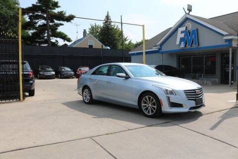 2017 Cadillac CTS for sale at F & M AUTO SALES in Detroit MI