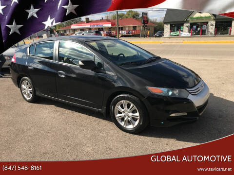 2010 Honda Insight for sale at GLOBAL AUTOMOTIVE in Gages Lake IL