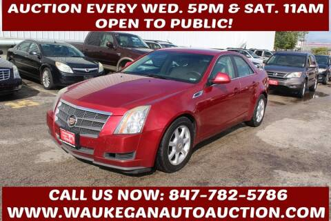 2008 Cadillac CTS for sale at Waukegan Auto Auction in Waukegan IL