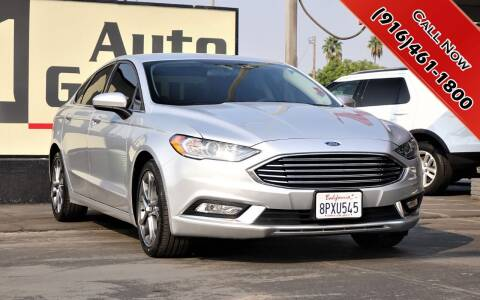 2017 Ford Fusion for sale at H1 Auto Group in Sacramento CA