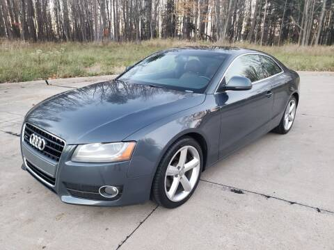 2009 Audi A5 for sale at Autolika Cars LLC in North Royalton OH