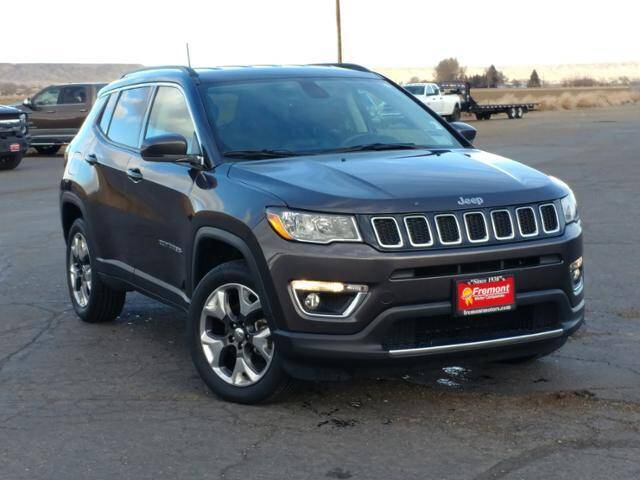 2017 Jeep Compass for sale at Rocky Mountain Commercial Trucks in Casper WY